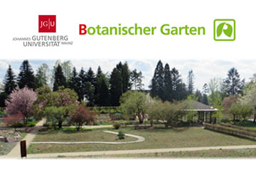 The Botanic Garden - Johannes Gutenberg-Universität Mainz